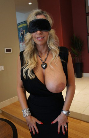 Big tit blonde blindfolded amp banged 5