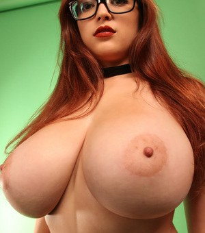 Situation Redhead with nice big tits are