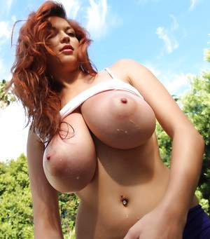 Ginger women with big tits